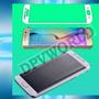Mica Curva Samsung Galaxy S6 Edge Hd Vidrio Templado Rigido