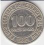 Perú, Antigua Moneda De Cu-ni 100 Soles De Oro 1,980