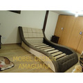 Dormitorio Tapizado ,cama 2 Plz Sin Veladores