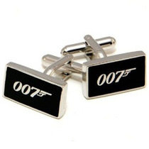 Gemelos Mancuernas 007 James Bond