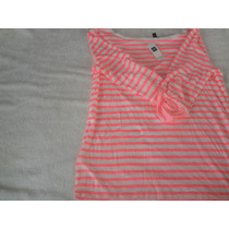 Camiseta Mujer Mangas Largas Marca Gap Talla M