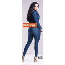 Jeans Levantacola Super Strech 2015 Talla 6 8 10 12 14