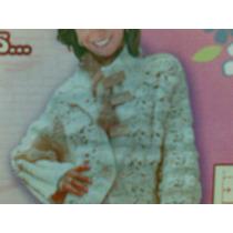 Abrigo Crochet Tejido A Mano