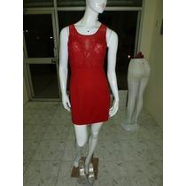 Vestido Rojo Americano Para Fiesta