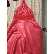 Remato Vestido Talla L Mujer Hermoso Espalda Descubierta