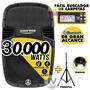 Caja Amplificada 600w Rms Audiotech Bluetooth Usb + Pedestal