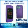 Funda Protectora De Silicona Nokia 5800 - 5230 - 5233