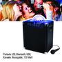 Parlante Led, Bluetooth, Usb, Karaoke, Recargable, 120 Watt