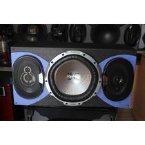 Audio Carro Bajo Parlantes Caja Oferta Combo Audio Oferta