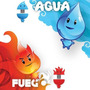 Memoria Flash De 8gb, Marca Kingston, Fuego Y Agua