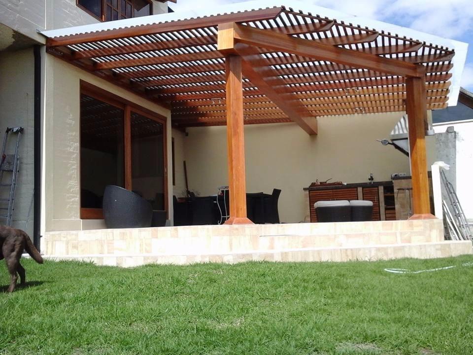 29 new pergolas de madera y policarbonato - Pergola de madera ...