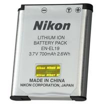 Batería Cámara Nikon El19 Usb Sd Gb Hd Original Foto Video