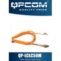 Cable Patch Cord De Fibra Optica Qpcom M-m Lc/lc 50/125um 2m