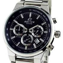 Reloj Casio Ef-500bp-1a Water Resistant Acero Inoxidable