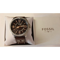 Reloj Fossil 100 Meters Black De Hombre En Caja