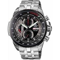 Reloj Casio Ef-558 Cronografo Original Deluxe En Caja
