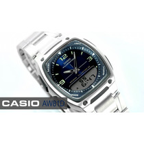 Reloj Casio Aw 81 Acero 100% Orignal Envios Nacionales