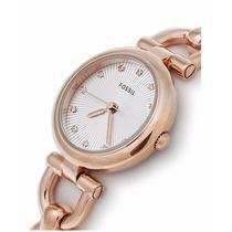 Fossil Reloj Pulsera Mujer Es3350 Oro Rosa