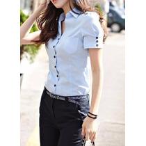 Blusas Mujer Uniformes Administrativos