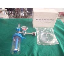 Regulador De Oxigeno Con Flujometro
