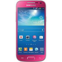 Celular Samsung Galaxy S4 Mini Duos Pink (usado) +case+mica