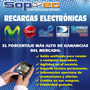 Recargas Electrónicas Movistar, Claro, Cnt, Dtv