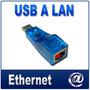 Adaptador Usb A Lan Ethernet Rj45 Velocidad 10/100 Network