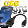 Cable Micro Usb A Usb Hembra Para Samsung Galaxy Smart Phone