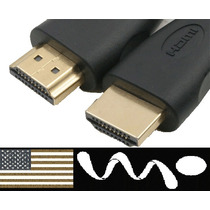 Cable Hdmi V1.4 1.8m Ps3 Xbox360 Tv Lcd Plasma Dvd Blu Ray