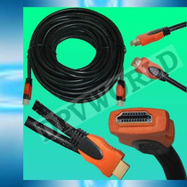 Cable Hdmi 3 Metros Blindado Full Hd 1080p Lcd Led Ps3 X-box