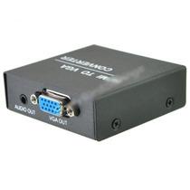 Adaptador Hdmi Vga Video Audio Lcd Laptop Led Wifi Mp3 Gb Hd
