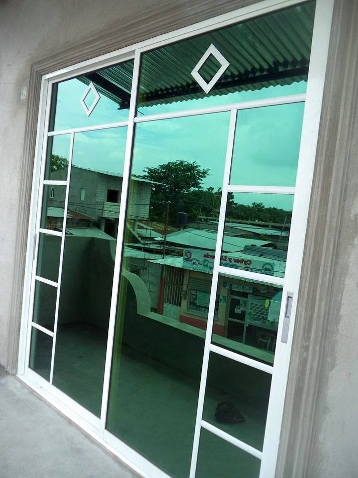Ventanas aluminio corredisas related keywords ventanas - Puertas de cristal ...