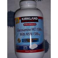 Glucosamina 1500 Mg Msm 1500 Mg 375 Pastillas Marca Kirkland