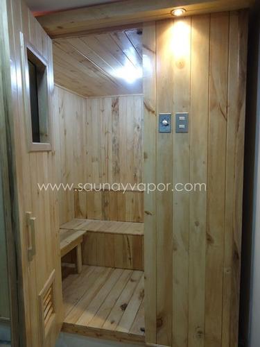 Equipos para vapor turco sauna ba os de caj n y asiento - Sauna finlandesa o bano turco ...