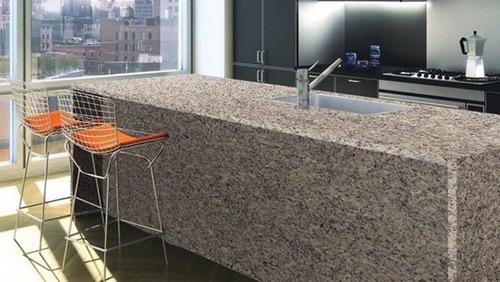 Venta instalacion mesones de granito pos formados en for Granito brasileno colores