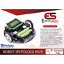Robot 3pi Pololu #975 Ensamblado Seguidor De Linea   ELECTROSTORE RIOBAMBA