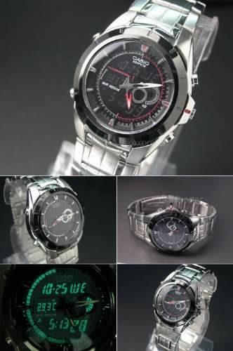 c8e903c2ff00 Reloj Casio Edifice Efa-119 Oferta Cronógrafo Termometro en venta en ...