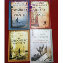 Busca Saga La Sombra Del Viento Carlos Ruiz Zafon 4 Libros Nuevos A La Venta En Ecuador Ocompra Com Ecuador