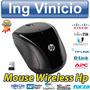 Mouse Inalambrico Wireless Usb Hp X3000 Azul 1200dpi Negro | ING. VINICIO