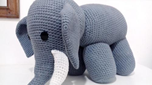 Elefante Bichinho Do Safari Amigurumi - R$ 68,90 em Mercado Livre | 281x500